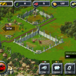 Jurassic Park Builder game screen shot