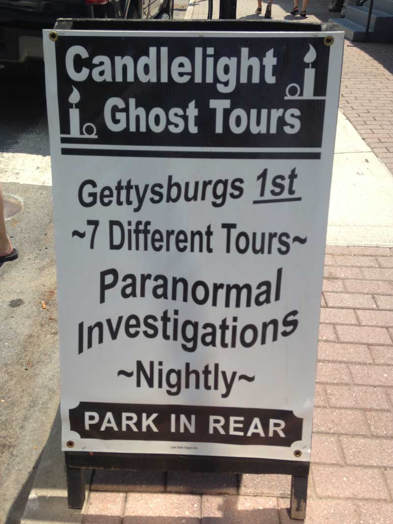 Gettysburg Candlelight Ghost Tours