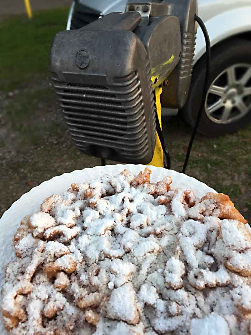 Funnel Cake and Drive-in speaker