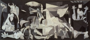 Picasso's Guernica is regarded by many art critics as one of the most moving and powerful anti-war paintings in history.