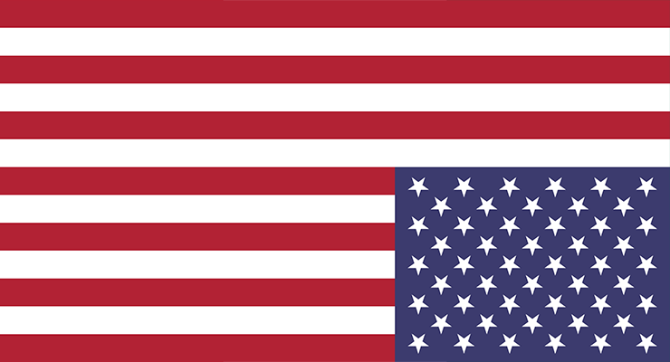 Inverted American Flag - Sign of Distress