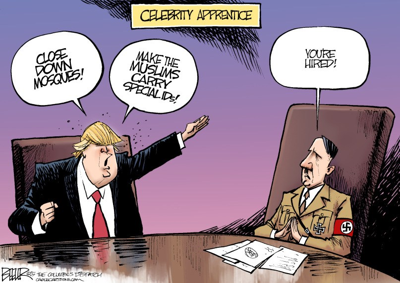 Trump Celebrity Apprentice, circa 1933 - you're hired!