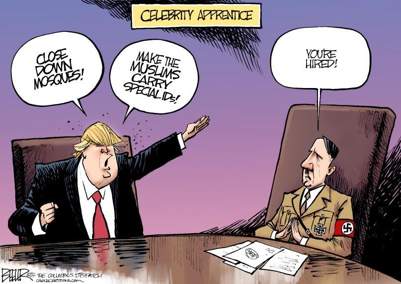 Trump Celebrity Apprentice, circa 1933 - you're hired!