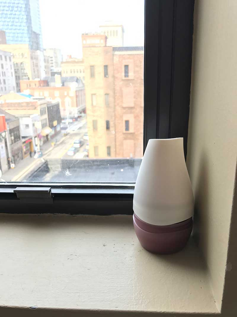 Air Freshener on WIndow Sill