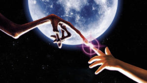 E.T. the Extra-Terrestrial Fingers Touching