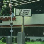 Eat 'n Park Signage Misspelling