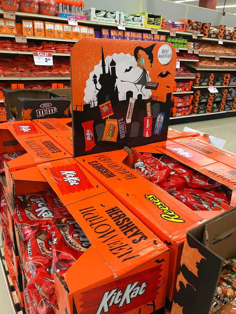 Halloween Candy in July