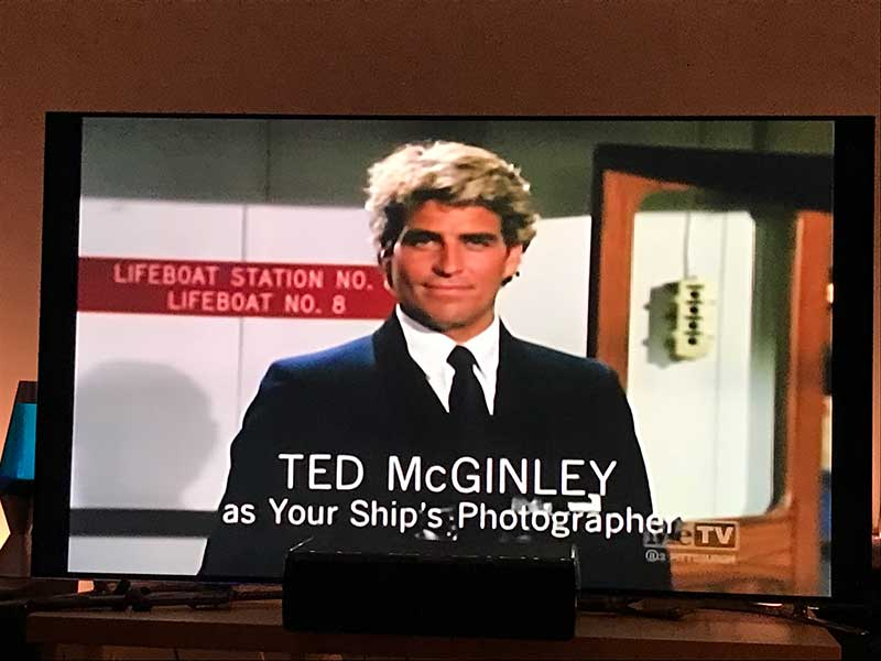 Ted McGinley in The Love Boat