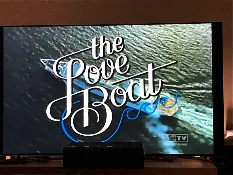 The Love Boat Title Screen - February 1 1986